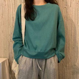 Shopherd - 長袖純色T裇