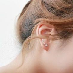 Seoul Young - Rhinestone Star Earring