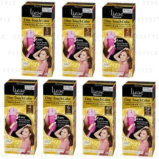 Kao - Liese Blaune One-Touch Hair Color - 7 Types