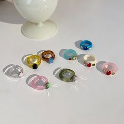 Rouwan - 树脂戒指 (多款设计)
