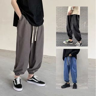 Wescosso - Plain Sports Pants