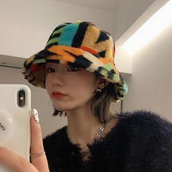 4.4 STUDIO - Chenille Lettering Bucket Hat