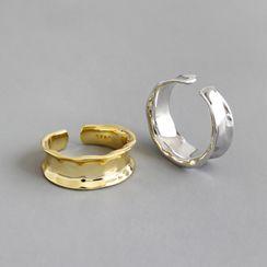 Phoenoa(フェノア) - 925 Sterling Silver Irregular Open Ring