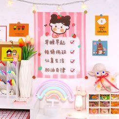 Fun House - Cartoon Print Hanging Decoration