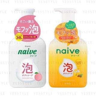 Kracie - Naive Foaming Body Wash 500ml - 2 Types