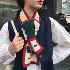 Combon - 聖誕圖案圍巾