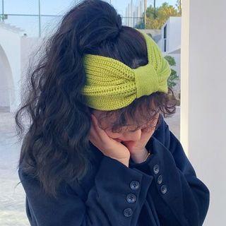 Birravin - Plain Knit  Headband