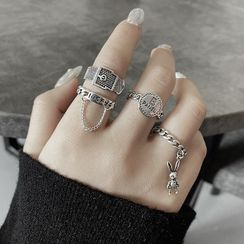 LIVSIA - Alloy Ring (Various Designs)