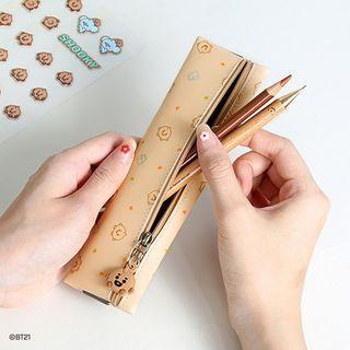 BABOSARANG - 'BT21' Pendant Banded Pencil Case