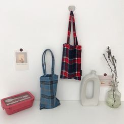 TangTangBags(タンタンバッグズ) - Plaid Bottle Carrying Bag