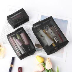 Sosara - Mesh Makeup Pouch