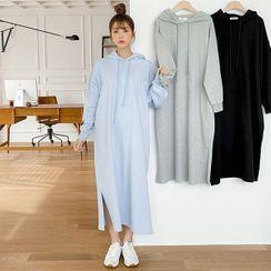 Seoul Fashion(ソウルファッション) - Hooded Pullover Dress