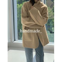 maybe-baby - Handmade Single-Breasted Jacket