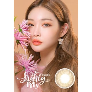 LENS TOWN - Lighly Lily 1-Day Color Lens #Brown