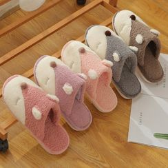 Cool Cocoon - Couple Matching Fleece Home Slippers