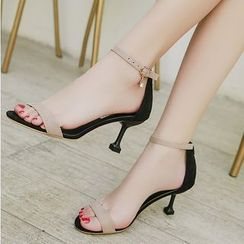 Anjay - High Heel Ankle Strap Sandals