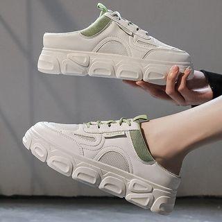 Weiya - Platform Sneaker Mules