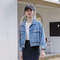 Deca - Buttoned Denim Jacket