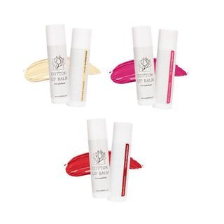 PUREFORET - Cotton Lip Balm - 3 Colors