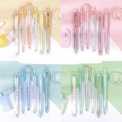 Hekki - Pen - 0.5mm / Eraser / Cutter / Set