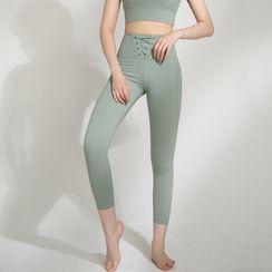 Santi - 系带瑜伽长裤