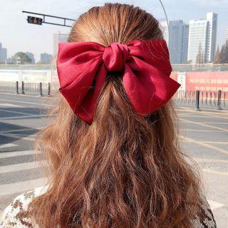 Miss Floral - Fabric Bow Hair Clip
