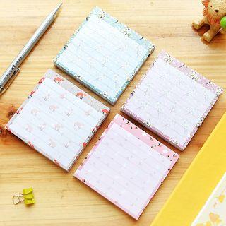 SASHI - Printed Memo Pad