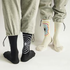 QUICKSOOX - Face Silhouette Socks