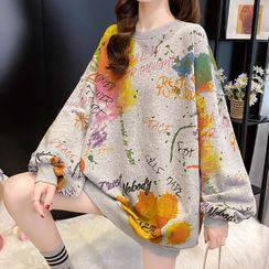 Ageha - Printed Pullover