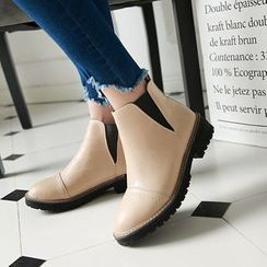 Shoes Galore - Gusset Ankle Boots