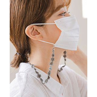 Miss21 Korea - Flower Lace Face Mask Strap