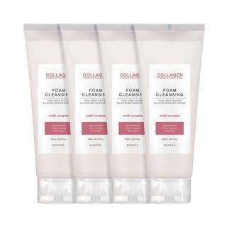 EUNYUL - Collagen Intensive Facial Care Foam Cleansing Set