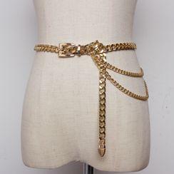 YUMINA - 链条腰带
