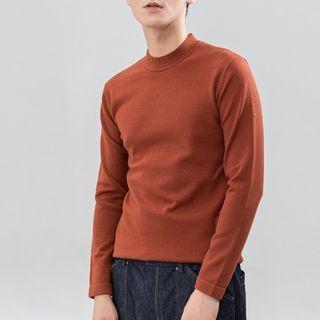 Orizzon - 長袖純色針織上衣