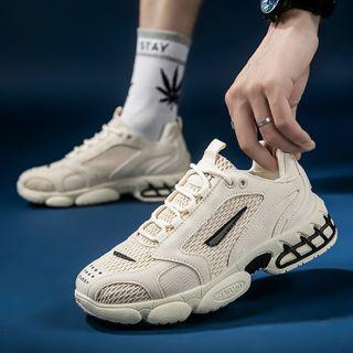 BELLOCK - Platform Mesh Sneakers