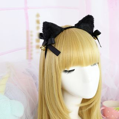 Elfis - Cat Ear Headband / Bow Hair Clip / Bow Brooch