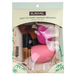 ZOREYA - Set: Makeup Brush + Makeup Blender Beauty Sponge
