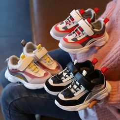 Cool Kid - Kids Color Panel Adhesive Tab Sneakers