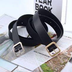 Rofuka(ロフカ) - Faux Leather Belt