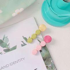 Hello minto - Acrylic Disc Hair Clip
