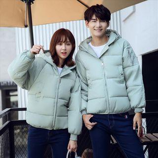 Bonne Nuit - Couple Matching Padded Hood Jacket