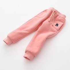 Seashells Kids - Kids Embroidered Jogger Pants