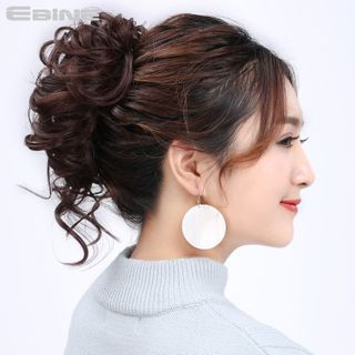 Japanese Salon Wigs - Hair Bun