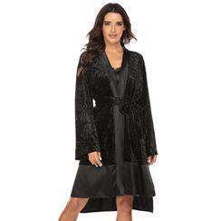 Klairen's - Velvet Robe