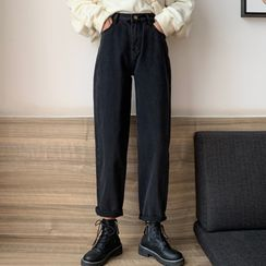 Velero - 九分直身牛仔裤