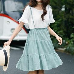 Fairyland - Jumper-Kleid im Layering-Look