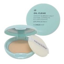 THE FACE SHOP - Oil Clear Smooth & Bright Pact SPF30 PA++ 9g