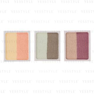 MUJI - 2-Color Eye Shadow Refill 2.2g - 3 Types