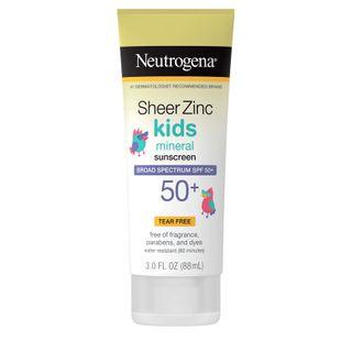 Neutrogena - Sheer Zinc Spf#50+ Lotion Kids