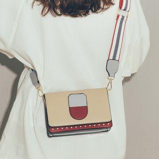 Felicity - Colored Panel Crossbody Bag